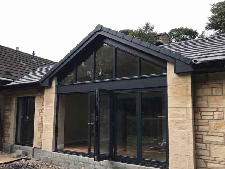 New build extension in Hillend, Fife